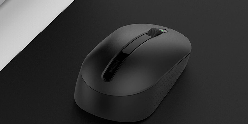Мышка Xiaomi MIIIW Wireless Office Mouse (черный)