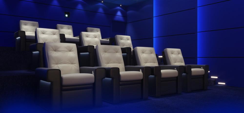 Кресла для домашнего кинотеатра Moovie Boston