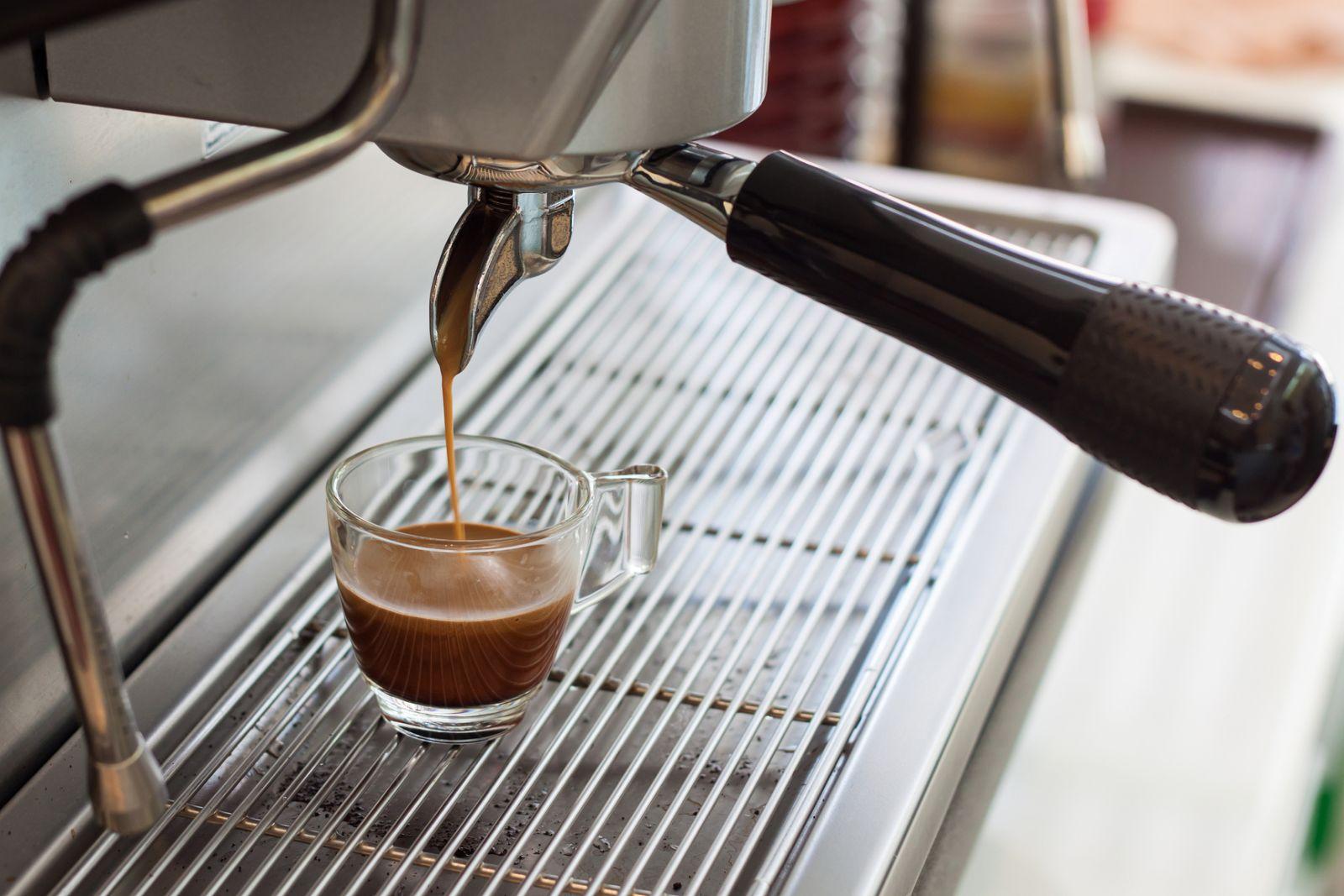 фото рожковой кофемашины