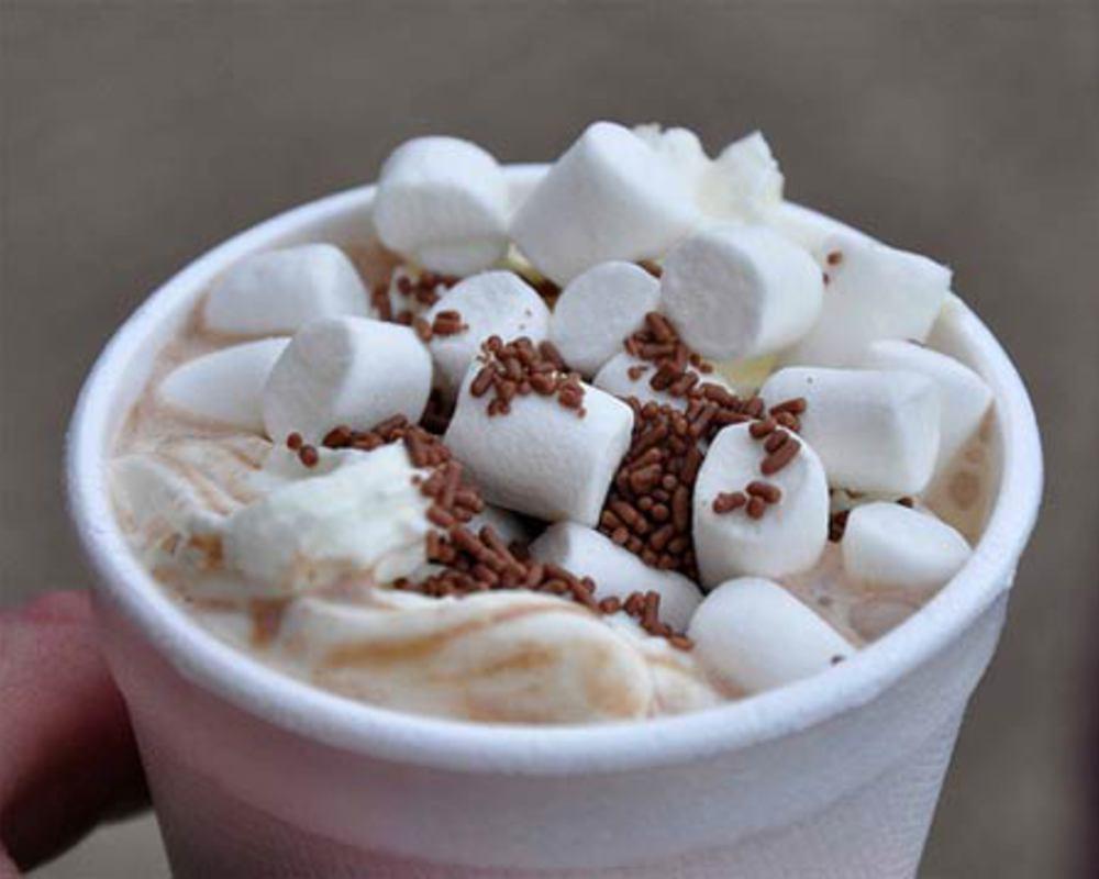 фото кофе с зефиром