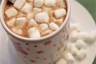 фото рецепта кофе с зефиром