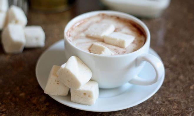 фото кофе с зефиром в домашних условиях
