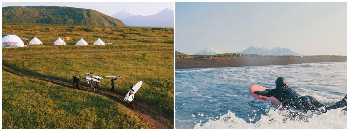 Серфинг на Камчатке