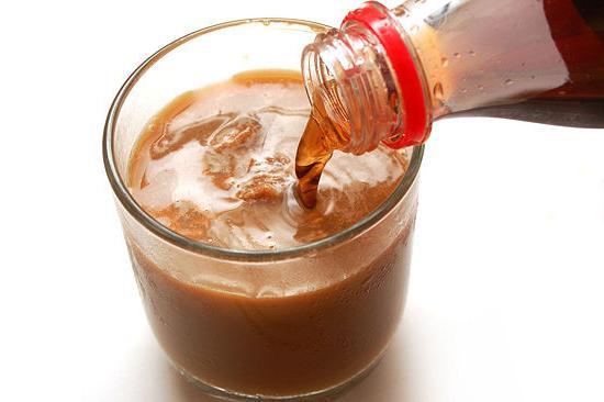 приготолвение кофе с колой фото