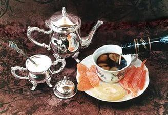 фото кофе с ликером