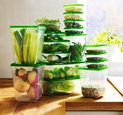 Большие контейнеры для хранения еды