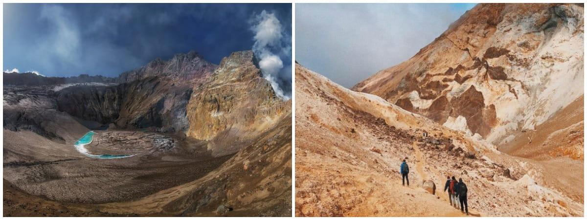 Восхождение на Мутновский вулкан