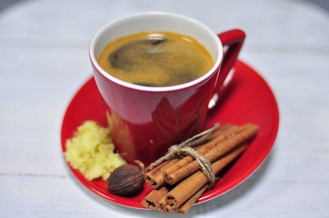фото кофе с имбирем
