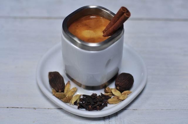 фото рецепта кофе с имбирем