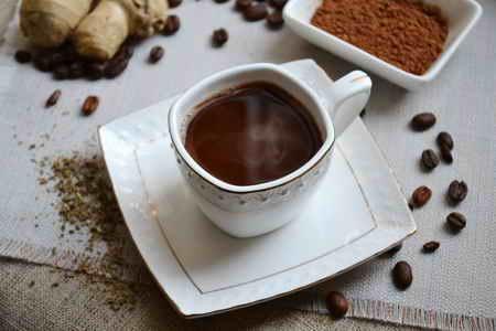 фото кофе с имбирем в домашних условиях