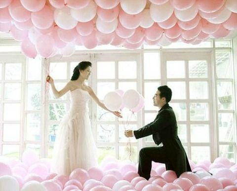 шары на свадьбу