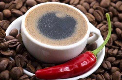 фото кофе с перцем