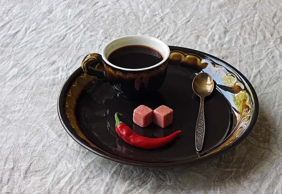 фото рецепта кофе с перцем