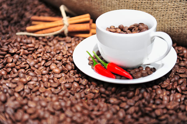 приготовление кофе с перцем фото