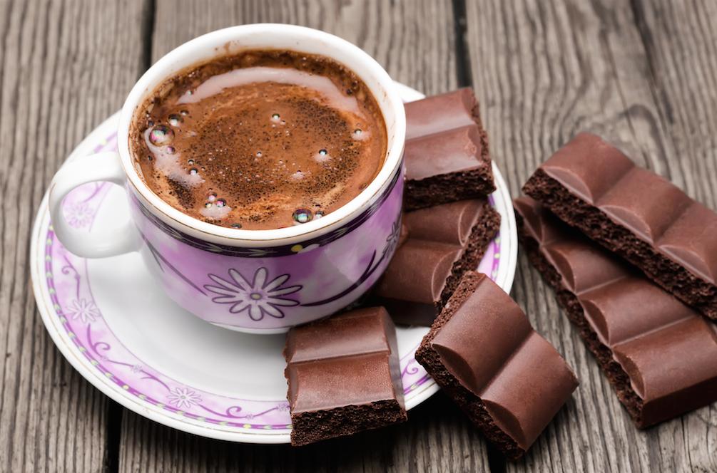 приготовление кофе с шоколадом фото