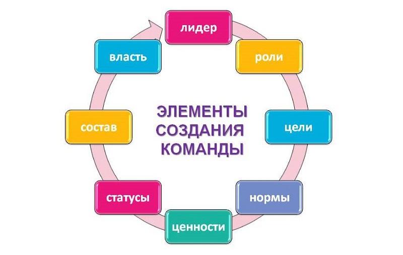 элементы команды