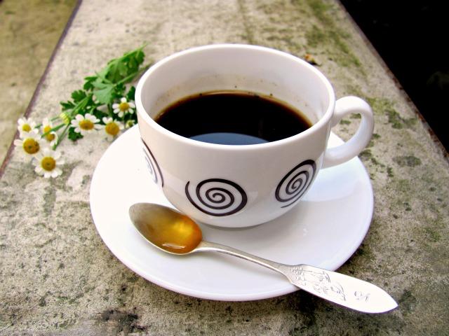 фото кофе с медом