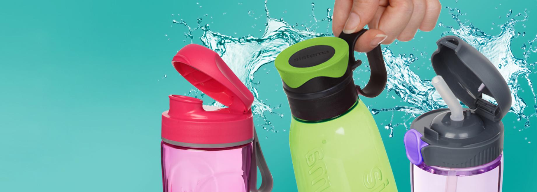 Бутылки для воды - функциональность и дизайн