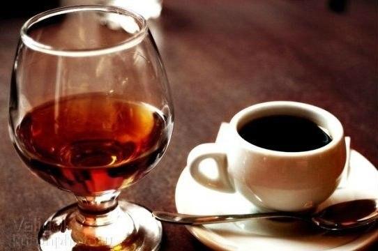 фото кофе с коньяком