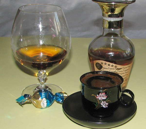 фото кофе с коньяком в домашних условиях