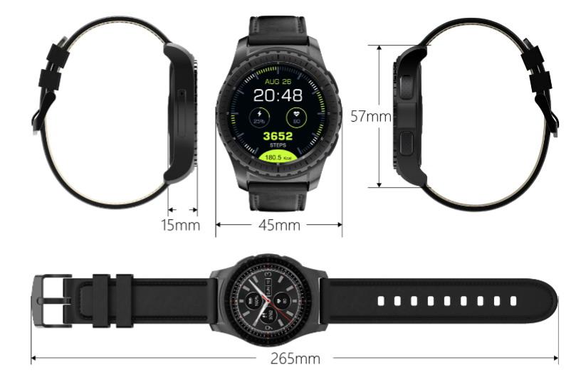 Умные часы телефон Smart Watch KingWear KW28