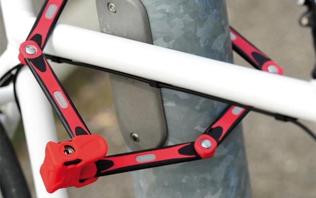 Пластинчатый велозамок
