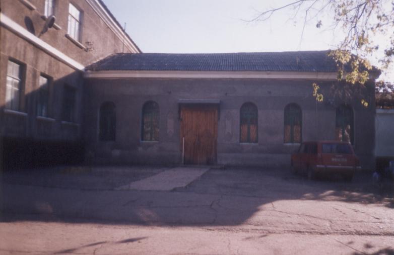 Средняя часть храма