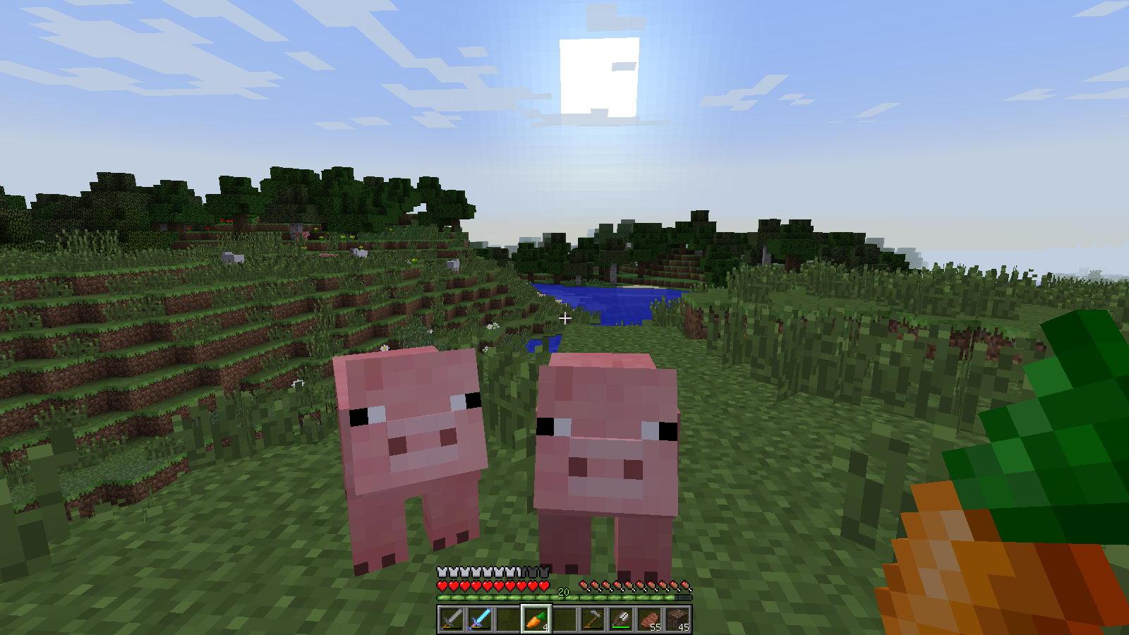 Свинка в Майнкрафт