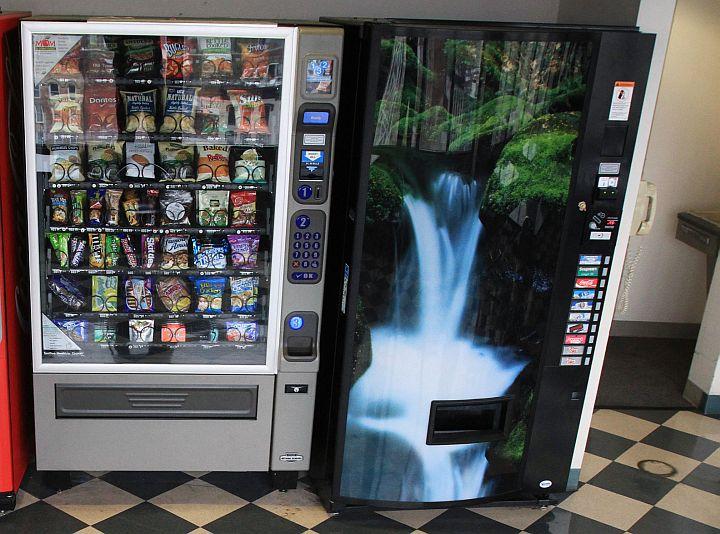 Вендинговые автоматы с местом для монтажа онлайн-касс