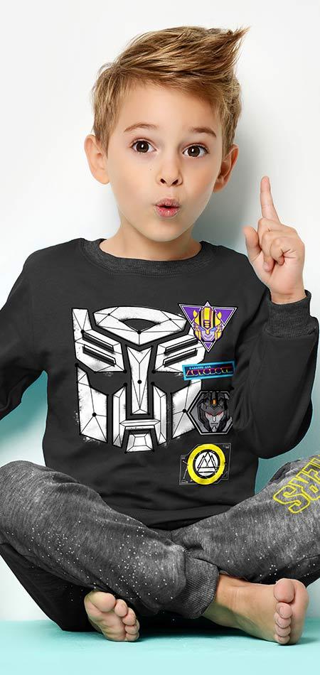 Распродажа одежды для мальчиков- Трансформерс