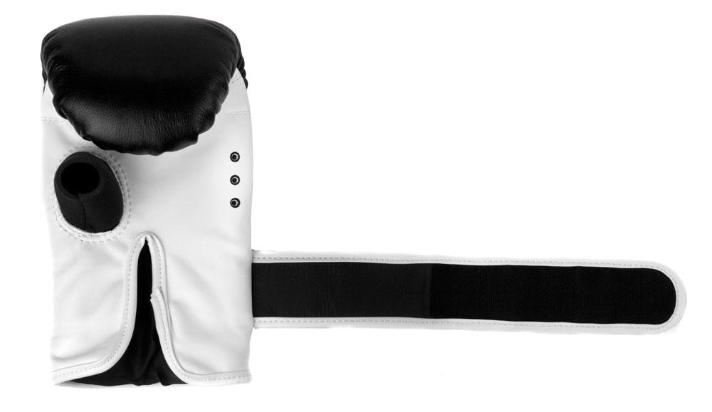 Снарядные перчаткик Dozen Fight Gear черные манжет фиксации