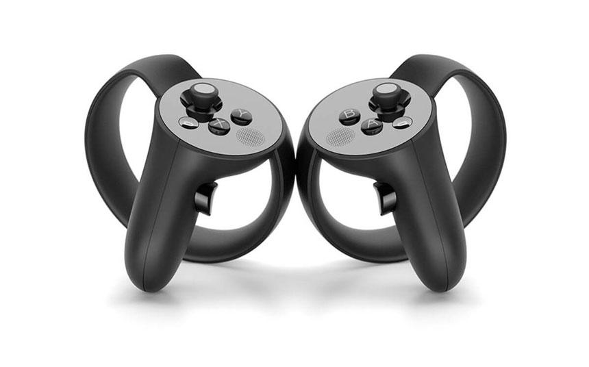 сенсорный контроллер oculus