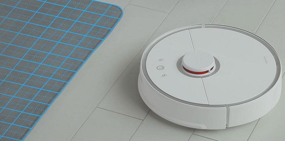 робот-пылесос очень удобен в использовании