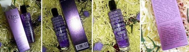 Фотоогляд на флюїд для світлого волосся Fanola
