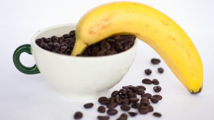 фото рецепта бананового кофе