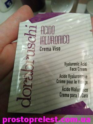 Фотообзор Dorabruschi acido ialuronico crema viso