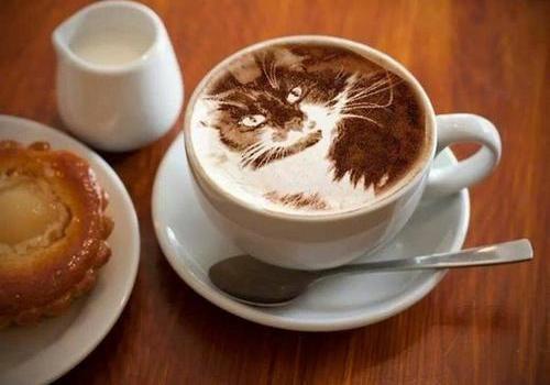 приготолвение сырного кофе фото