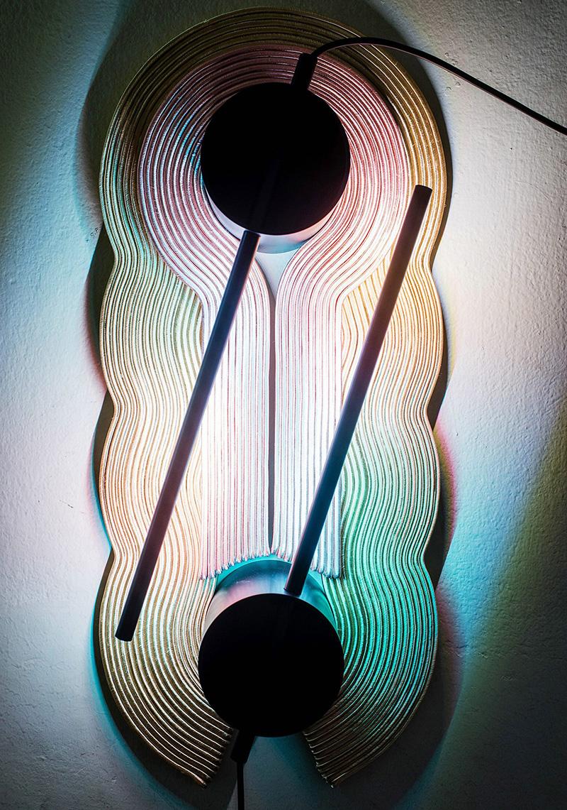 Светильник из галунов от Laurids Gallee