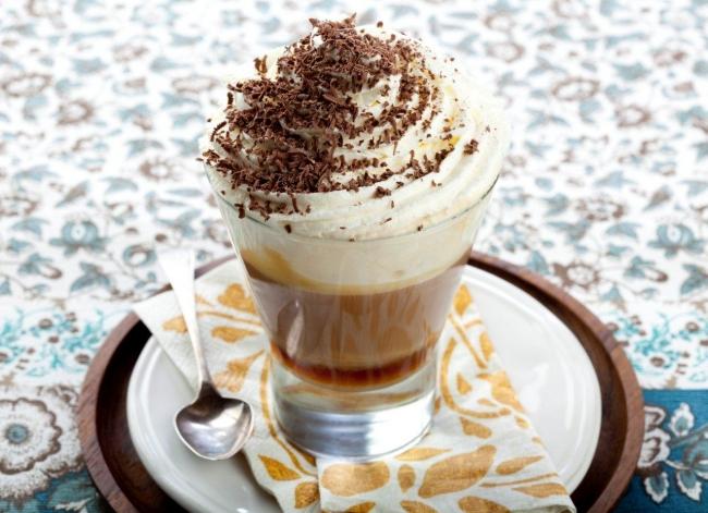 фото рецепта кофе по венски