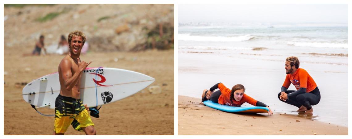 Уроки серфинга тур поездка в Марокко