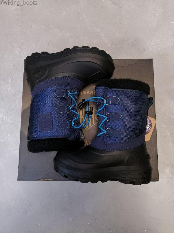 Сапоги Viking Istind Mid Blue/Black