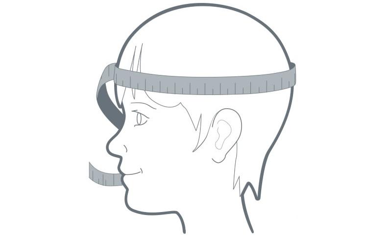 Как измерить размер головы для шлема