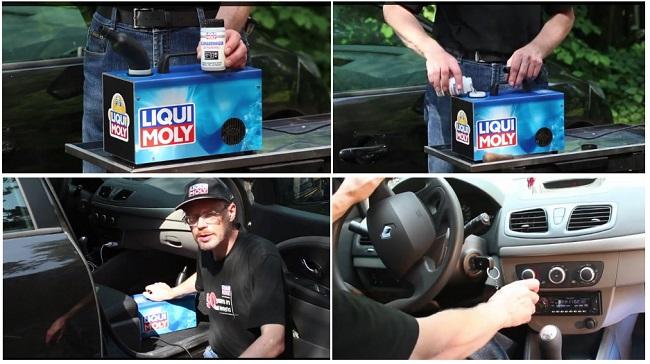 Подготовка автомобиля к ультразвуковой чистке