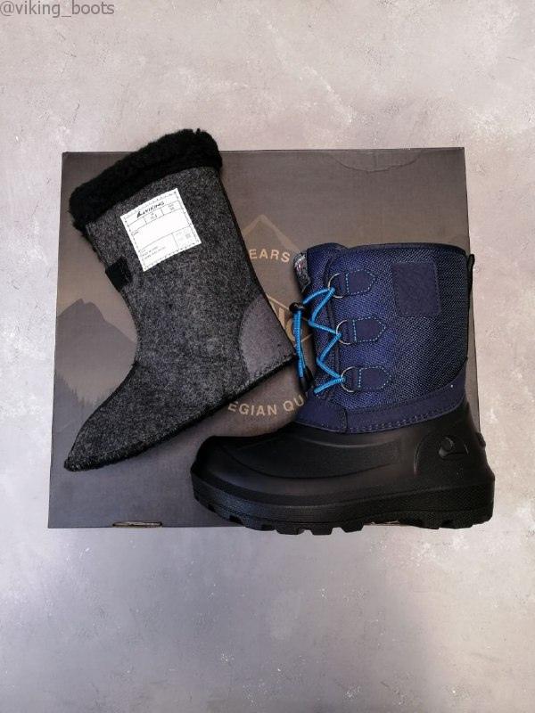 Сапоги Viking Istind купить в синем цвете можно с оплатой при получении или на сайте!