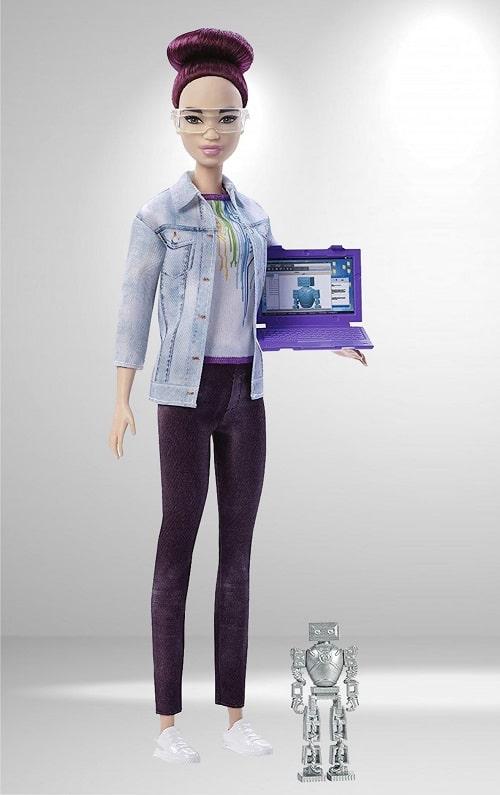 Кукла Barbie Инженер-робототехник Брюнетка