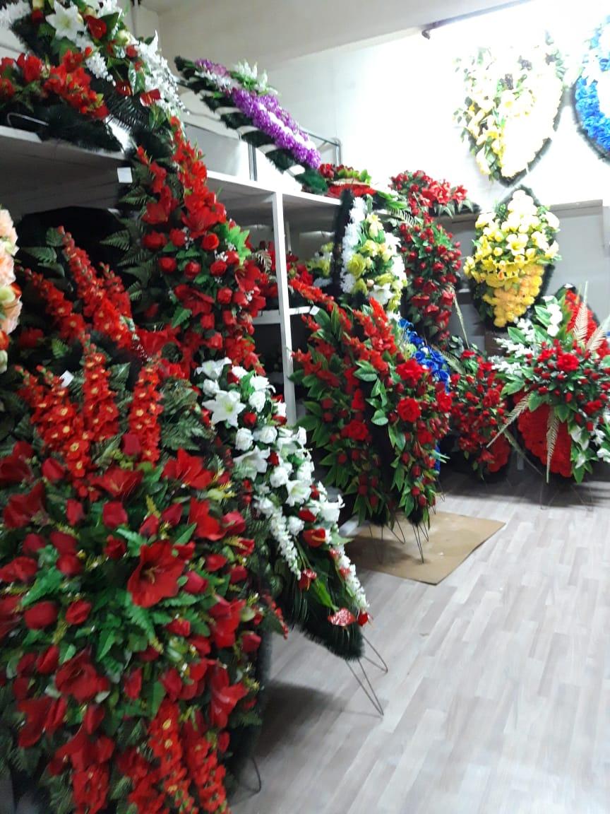 ритуальные венки на складе в Москве