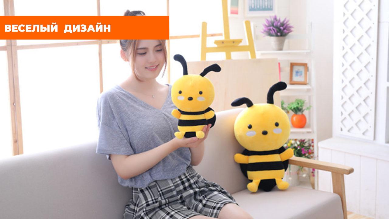 """Мягкая игрушка """"Желтая пчелка"""" (30см)"""