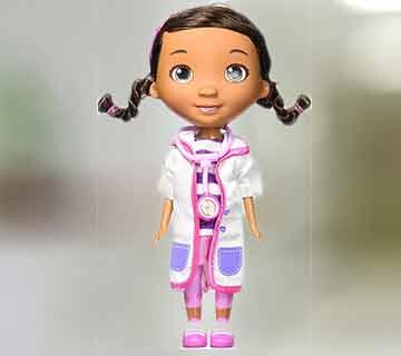 игрушка Дотти из коллекции Доктор Плюшева с аксессуарами