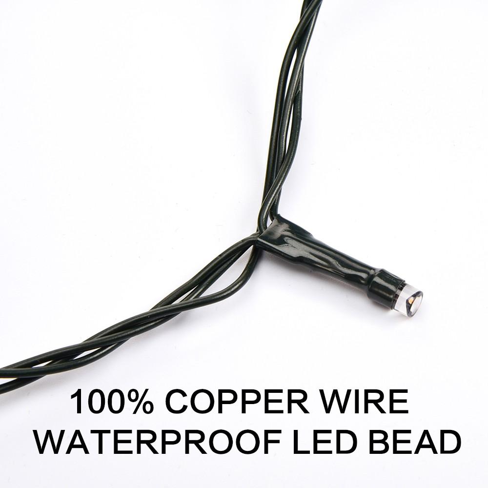 светодиод тепло белый гирлянды нить led 5 метров