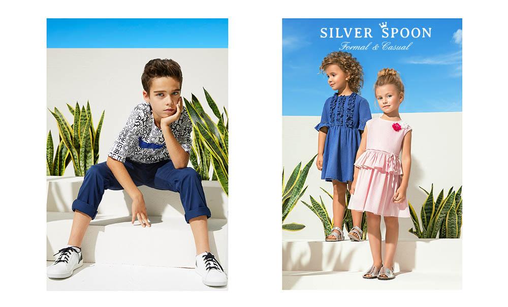 Повседневная одежда Casual Silver Spoon